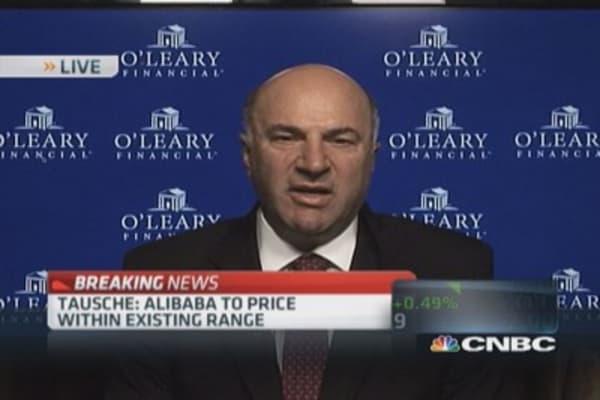 O'Leary anticipates successful Alibaba IPO
