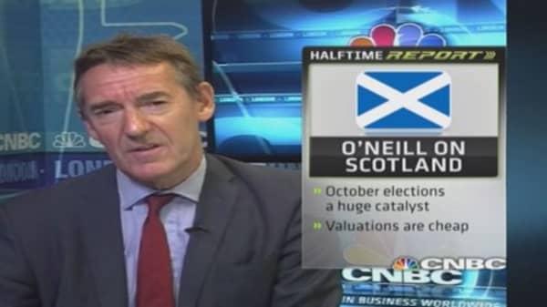 Scotland vote & your money