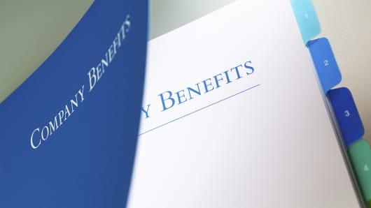 Company benefits manual