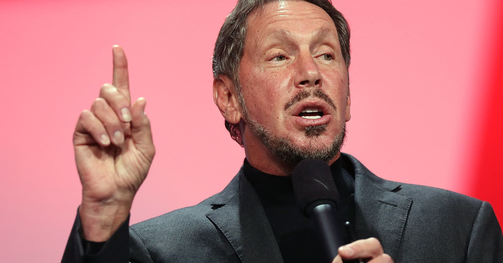 Oracle CEO Larry Ellison steps down, will be replaced by Mark Hurd and Safra Catz