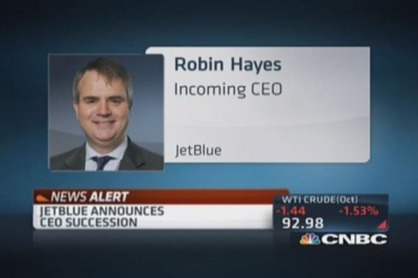 JetBlue's CEO succession