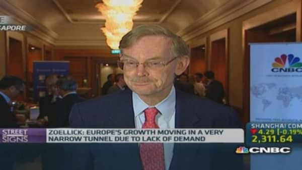 Zoellick: Trends to look out for in global economy