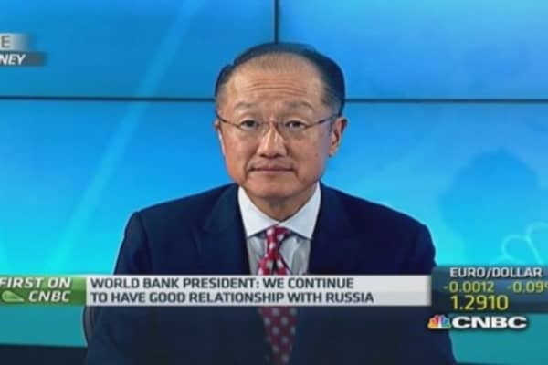World Bank chief on Russia and Ukraine crisis