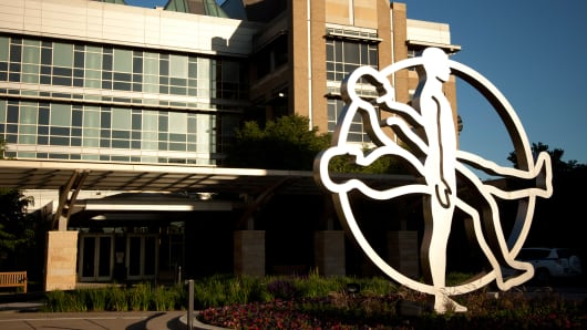 The Medtronic headquarters building in Minneapolis, Minnesota.