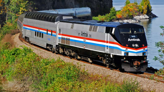 Amtrak's last remaining Great Dome car was built in 1955 by the Budd Company for the Great Northern Northern Railway and the Chicago Burlington & Quincy Railroad.