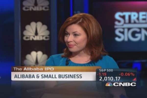 Alibaba: Big win for small business?