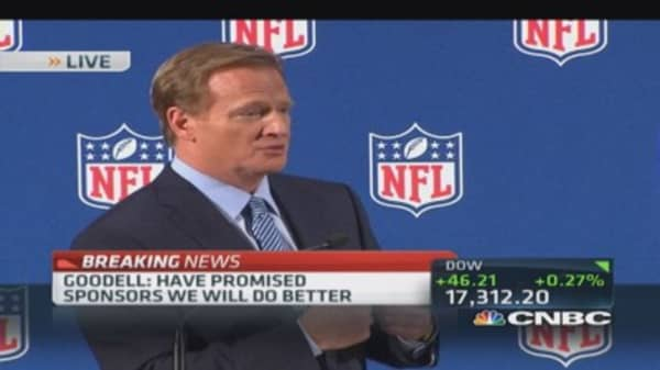 Roger Goodell: Will clean up our house