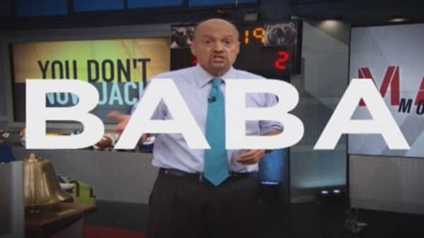 What Cramer thinks of Alibaba now