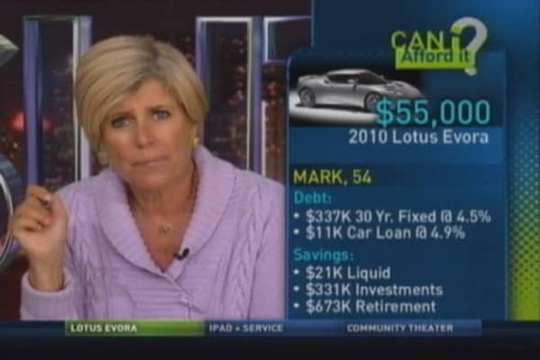 Suze Orman Long Term Car Loan