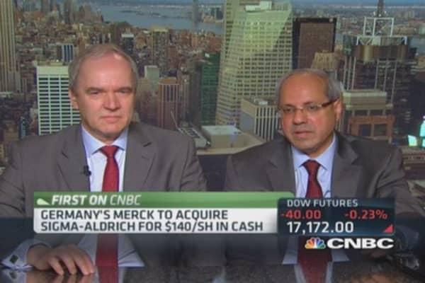 Germany's Merck to acquire Sigma-Aldrich for $17 billion