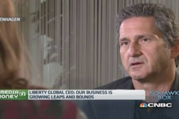 Liberty Global CEO on Vodafone acquisition rumor