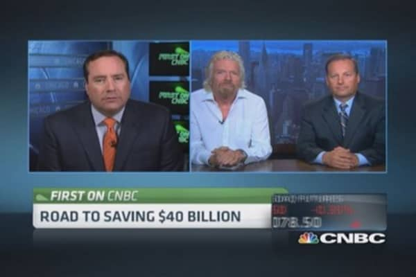 Branson's bid for biofuels