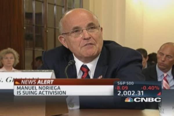 Manuel Noriega suing Activision