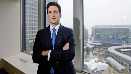 Benjamin Lawsky, superintendent of the New York State Department of Financial Services, is shown in New York.