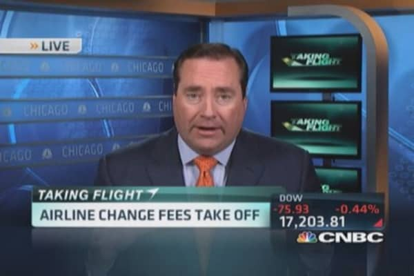 Airlines racking up in fees