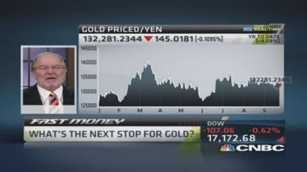 Gartman: No reason to own gold in dollar terms