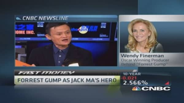 'Forrest Gump' producer: Have Jack Ma call me