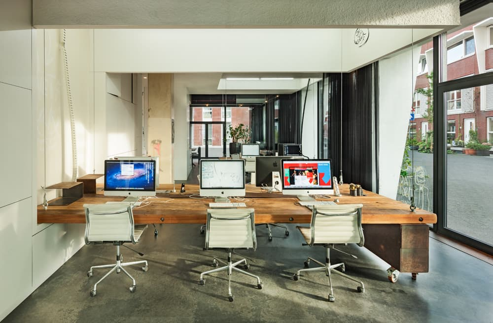 Disappearing office aims to increase work life balance