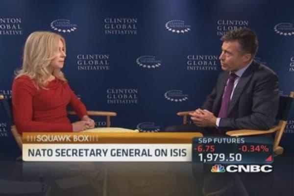NATO Secretary General on ISIS