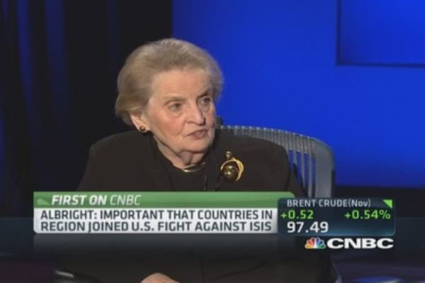 Albright on Turkey's huge problem