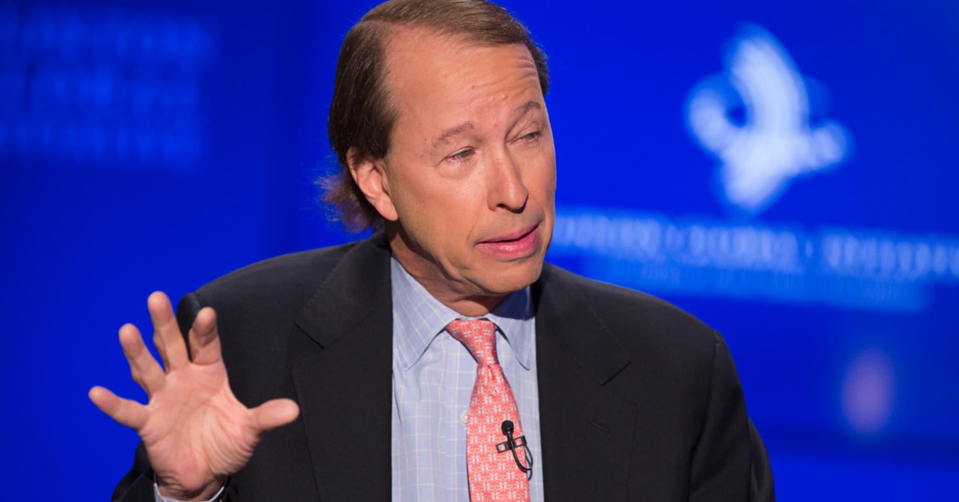 Blackstone's Tony James: I don't see an economic downturn anywhere on the horizon