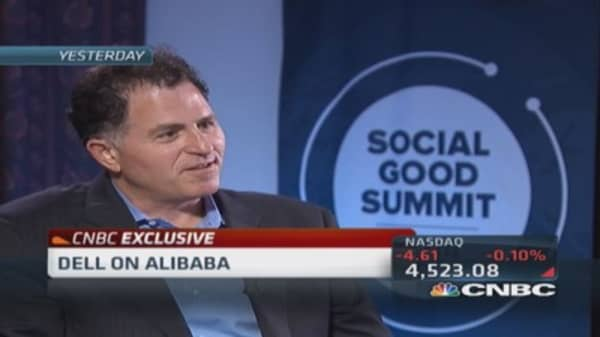 Michael Dell: Alibaba interesting company