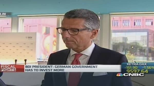 Germany's future could be 'risky': BDI