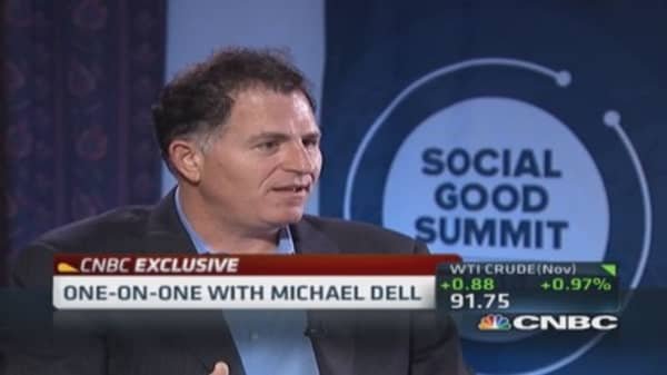 Michael Dell: Very fast tablet growth