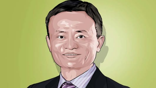 Jack Ma CNBC Next 25 100 140923
