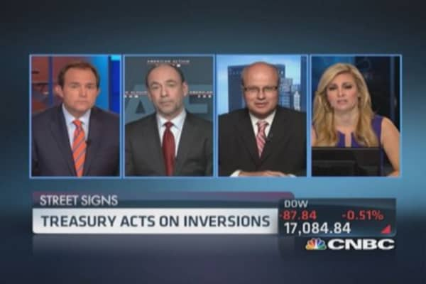 Debate: Inversion policy & tax reform