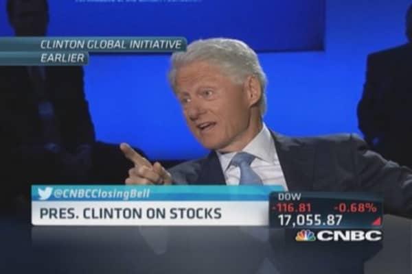 Bill Clinton's bold business prediction