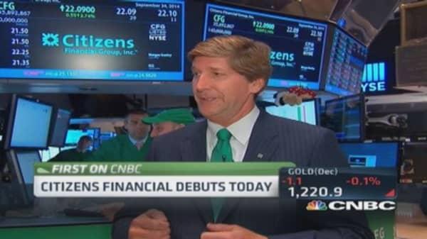 Citizens CEO: IPO big milestone