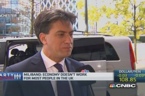 The economy doesn't work for most: Labour leader