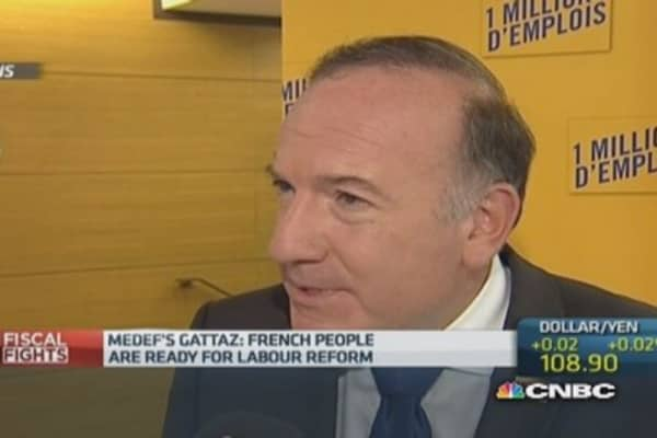 France's situation is 'urgent': MEDEF