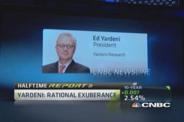 Europe weak, China slowing, US stands out: Yardeni
