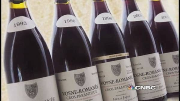 The Demand for Ultra-Expensive Wine