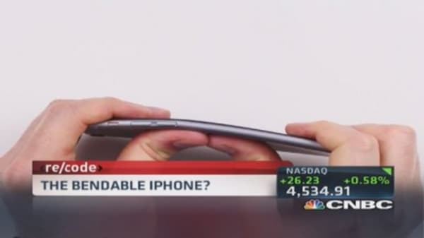 The bendable iPhone?
