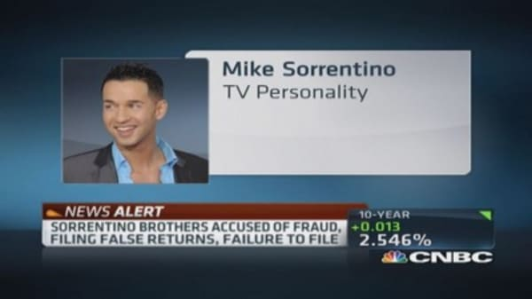 Jersey Shore's 'The Situation' & brother face indictment