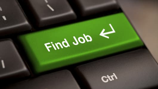 Find job button on keyboard