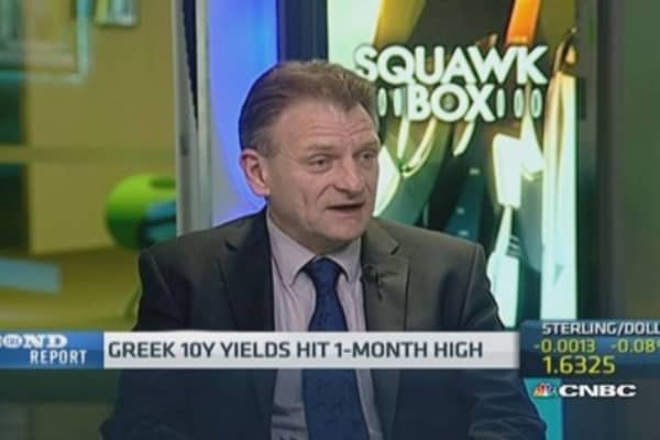 Greek bond yield spike due to political concern: Pro