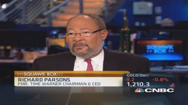 Dick Parsons: Sports ownership ultimate toy