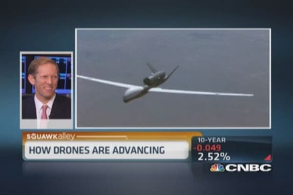 Drones the size of a 747?