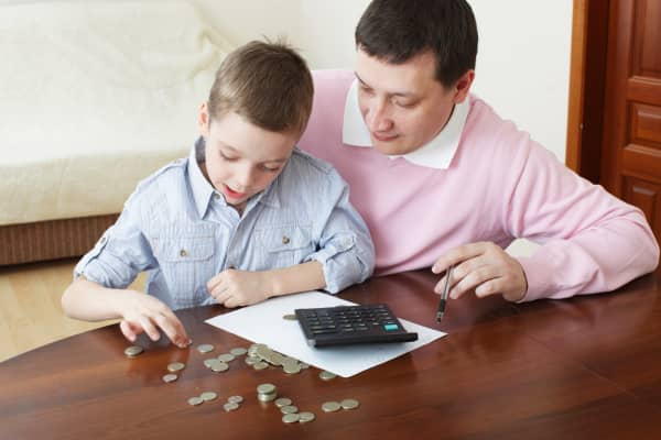 Parent child financial education responsibility