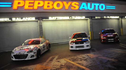 A Pep Boys in Hollywood, Calif.