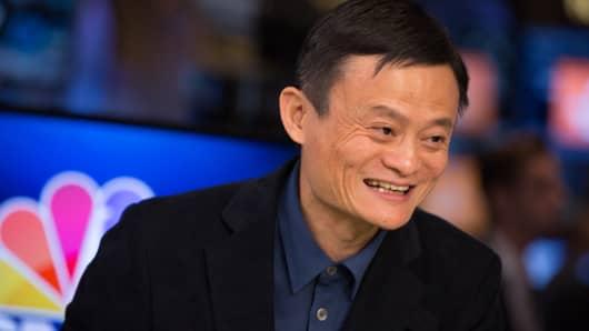 Jack Ma, founder of Alibaba Group Holding Ltd.