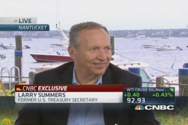 Crazy to blame Fed for income inequality: Summers