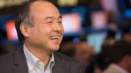 Masayoshi Son, CEO of SoftBank.