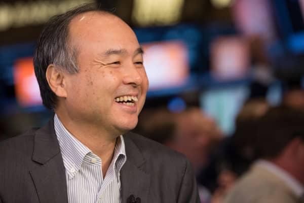 Masayoshi Son, CEO of SoftBank.