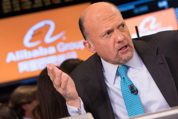 Jim Cramer discusses the Alibaba IPO at the NYSE.