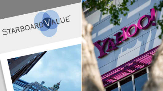 Starboard Value and Yahoo